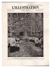 L'ILLUSTRATION 4397 1927 GROTTES calès RALLYE BALLON MOUSSY