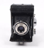 Ensign Selfix 16-20 folding camera with 75mm, f 4.5 angstimat lens