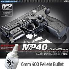Academy M&P 40 Smith&Wesson Pistol Airsoft 6mm BB Shot Gun Military Kit# 17225