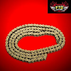 CBR 1000rr  Gold chain, 150 link-530 O-Ring Chain For  Swingarm Extensions