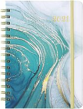 "2021 Planner Weekly & Monthly Planner 2021 with Monthly Tabs 6.37""x 8.46"""