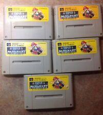 Super Mario Kart Japanese Good Shape SFC Super Famicom Nintendo USA SELLER