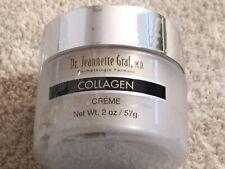 Dr. Jeannette Gaff Collagen Creme. Dermatological Formula. 2 Oz. NEW. Sealed.