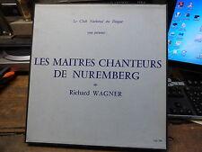 les maitres chanteurs de Nuremberg - richard Wagner - club national du disque