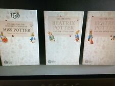 More details for beatrix potter full set of 13-in their royal mint albums.