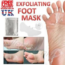 Exfoliating Foot Mask Baby Soft Feet Peel Peeling Socks Hard Dead Skin Callus UK