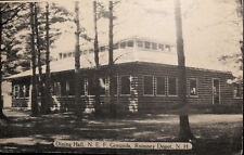 1945 Rumney Depot, N.E.F. Grounds, New Hampshire Photo Postcard
