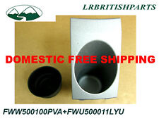 LAND ROVER CUP HOLDER & RUBBER INSERT RANGE ROVER 4.4 03 OEM FWW500100 FWU500011