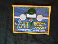 "2013 National Jamboree ""picabooyearbooks.com"" Pocket Patch  nj"