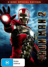 IRON MAN 2..(DVD, 2010, 2-Disc Set) SPECIAL EDITION..REG 4..NEW & SEALED  F552.