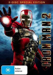 IRON MAN 2 (2-disc DVD set, 2010) - LIKE NEW!!!