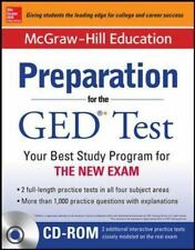 McGraw-Hill Education Preparation for the GED Test with DVD-ROM Editors of McGra