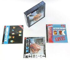2006 U.K. / JAPAN Mini LP CD x 3 titles + PROMO OBI x 3 + PROMO BOX Set!!