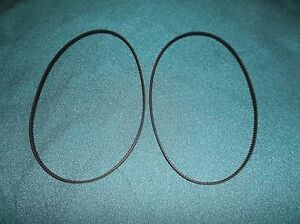 2 NEW DRIVE BELTS FOR SUNBEAM 5890 BREAD MAKER BREAD MACHINE BELTS MADE IN USA