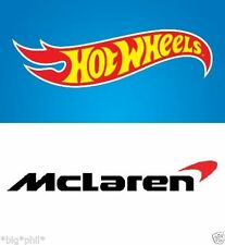 Hot Wheels McLaren Diecast Cars