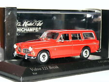 Minichamps 1966 Volvo 121 Amazon Estate Red LTD ED 1/43