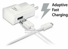 10FT Micro USB Cable + Adaptive Fast Charge Wall Adapter Rapid Cord 9V / 1.67A