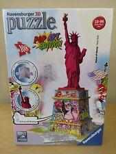 Nuevo Ravensburger 3D Puzzle Estatua de la libertad Pop Art Edition (12597)