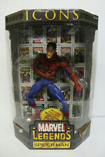 """Toy Biz Marvel Legends Icons 12"""" Spider-Man Unmasked Variant"""