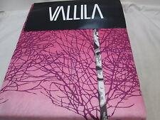 NEW Vallila KOIVIKKO Tree Twin Duvet Cover Set ~  Pink, Black, Grey, White NIP