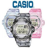 Casio Baby-G Women's Stopwatch World Time Digital Alarm LED Light Watch BG-169