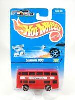 Hot Wheels London Bus Collector #613 Double Decker Bus NEW NOC Diecast
