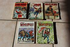Lot BD - Long Rifle - Tipi - Whipii ! - Western