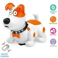 Musical Dancing Dog Toys For Kids Toddlers Baby Light Up Singing Puppy
