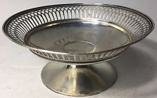 RARE 1880 ANTIQUE SOLID Sterling SILVER BY JAMES ALLEN  Reticulated Bowl 165.5 g