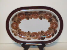 "Arabia Rosmarin pattern Oval Serving Platter 14 1/4"" Ulla Procope Signed # 2"