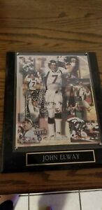 "John Elway Plaque ""Limited Edition"""