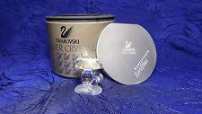 Swarovski Silver Crystal Mushroom Retired 1998 with Certificate