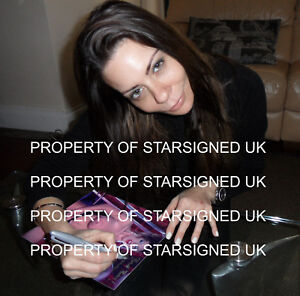 LINSEY DAWN MCKENZIE Signed 10x8 Photo GLAMOUR MODEL & ADULT MOVIE Star COA