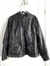 JouJou 3X Women's Faux Leather Jacket