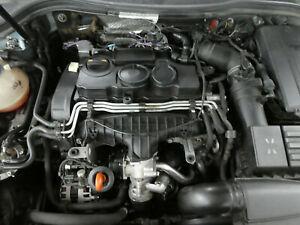 VW Audi Skoda 2.0 16V TDI BMR 125KW 170PS Motor ohne Anbauteile Modul ok 186Tkm