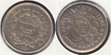 BOLIVIA. 20 CENTAVOS DE 1888 FE. PLATA 0.900.