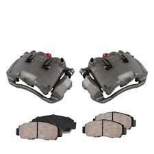 Front Brake Calipers And Ceramic Pads For Chrysler Aspen 2009 - 2015 Ram 1500