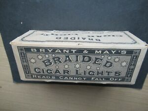 EARLY BRYANT & MAY DOZEN PACK OF BRAIDED LIGHTS.