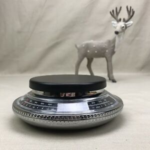 POLDER Vintage Kitchen/Mail Scale UFO Shaped Flying Saucer