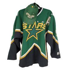Vintage Dallas Stars Nhl Mike Modano #9 Starter Embroidered Hockey Jersey Korea