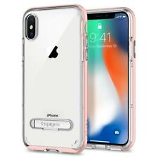 Spigen iPhone X Case Crystal Hybrid Rose Gold