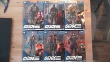 G.I. JOE Classified Series Lot of 6 Figures - BRAND NEW UNOPENED - FREE SHIPPING