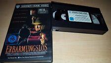 Erbarmungslos - Clint Eastwood - Warner Home Verleihtape - Erstauflage - VHS