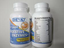 Deva Vegan Digestive Enzymes, 2 x 90 Kaps. OVP