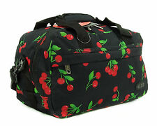 Hand Luggage Ryanair Small 2nd Cabin Flight Bag Lightweight Suitcase Cherry 35x20x20