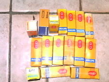 Gros Lot lampe tsf radio ancienne collectionneur rare 16 grosses ampoule philips