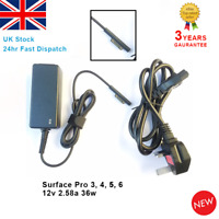 For Microsoft Surface Pro 3, Pro 4, Pro 5, Pro 6 Adapter Charger 12V 2.58A 36W