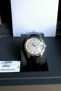 Jaeger LeCoultre Master Control Date Silver Dial 39mm! Q1548420 Great Condition!