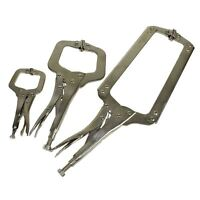 3pc Welding Clamp Fast Quick Release Fastener C Clamps Grips 150mm - 450mm