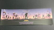 Avengers Infinity War Matt Ferguson Giclee 36x12 Art Print 409/870 Grey Matter